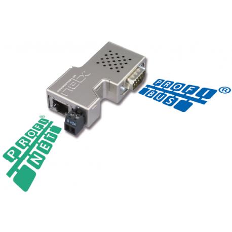 Passerelle de communication dédiée aux automates Siemes / Simatic S7® (PROFINET vers PROFIBUS)