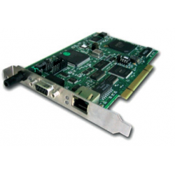 Carte réseau PCU-ETHIO Modbus  -  Référence DRL-EMB-PCU ou DRL-EMB-PCIE