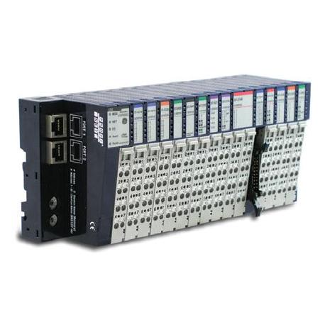 Entrées Sorties déportées RSTi pour réseau Modbus TCP, Profinet, Profibus, CANopen, Ethernet IP, Modbus RTU, Ethercat