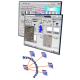 Exemple console opérateur solution DCS et contrôle de Processus Proficy Process Systems (PPS)