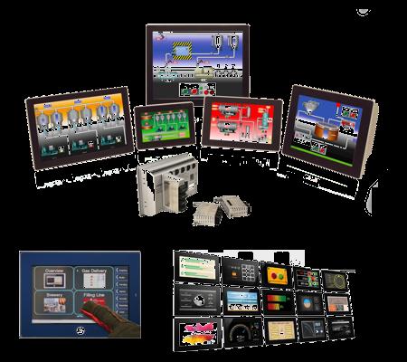 Ecrans opérateurs : IHM et afficheurs industriels