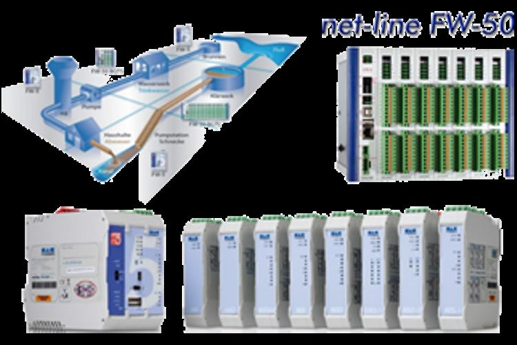 Systèmes de télegestion et conduite de station Net Line